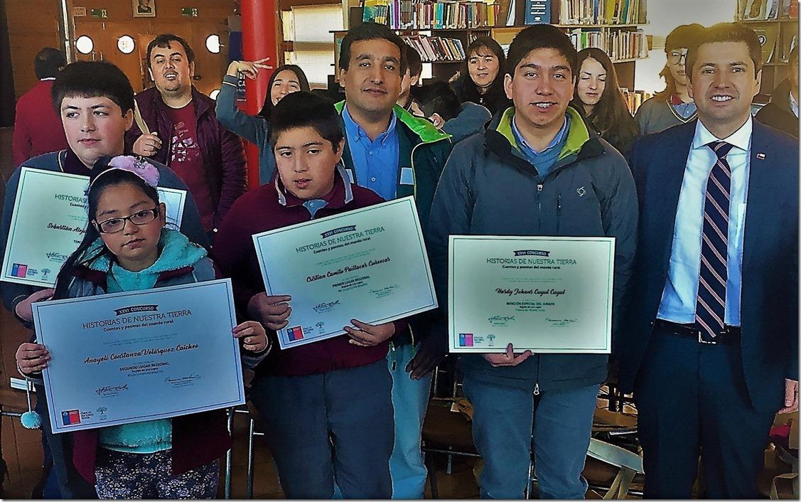 Sermi de agricultura con participantes de Chiloé