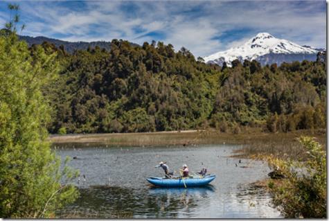 Foto turismo río Puelo de Nicolo Cantarutti