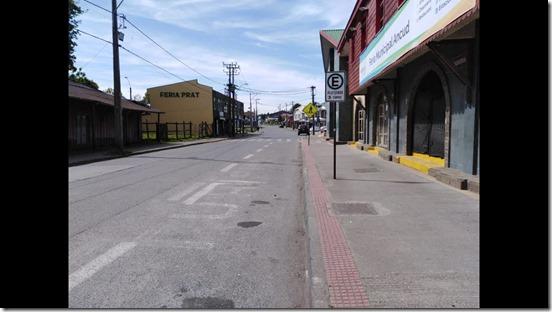 calle de Ancud en cuarentena - You Tube