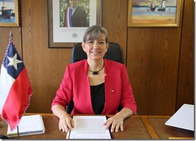 Subsecretaria de Pesca y Acuicultura, Alicia Gallardo Lagno 1